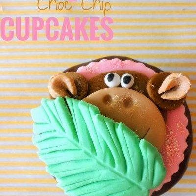 Choc Chip Banana Cupcakes