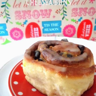 Chelsea Buns Paul Hollywood with cranberries, pistachios and orange zest