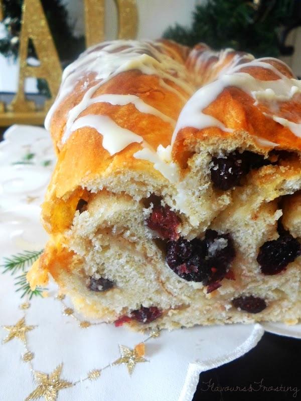 Cranberry White Chocolate Bread