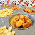 mini apple pies, spiced apple pie, spiced apple pies, apple pie,