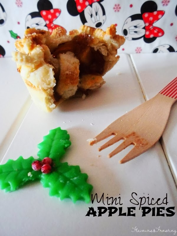 spiced homemade mini apple pies