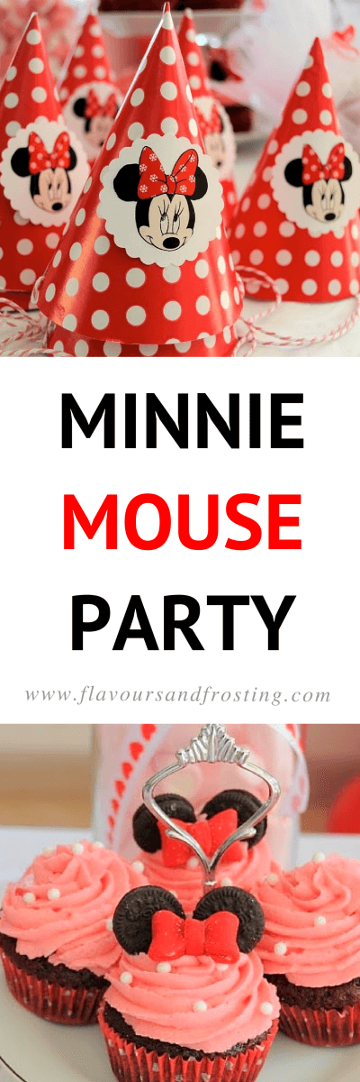 Minnie Mouse Dessert Table | Full details @ FlavoursandFrosting.com