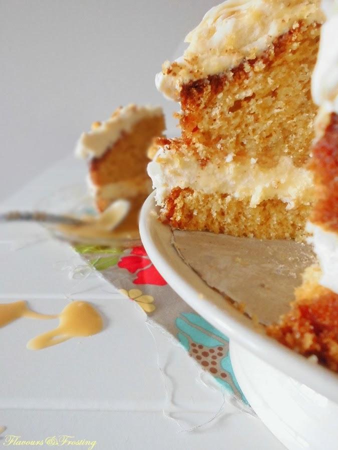 Peanut Butterscotch Cake
