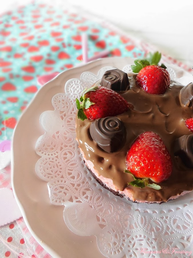 Strawberry Mousse Brownies, homemade chocolates, easy chocolates, valentines day recipe