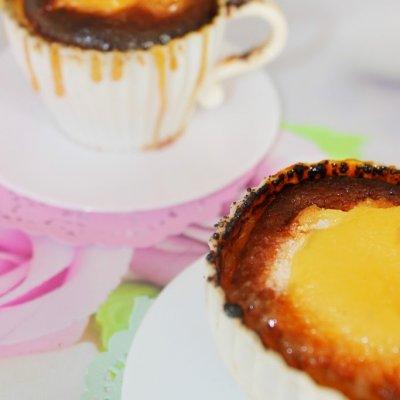 Creme Brûlée Cheesecake Cups