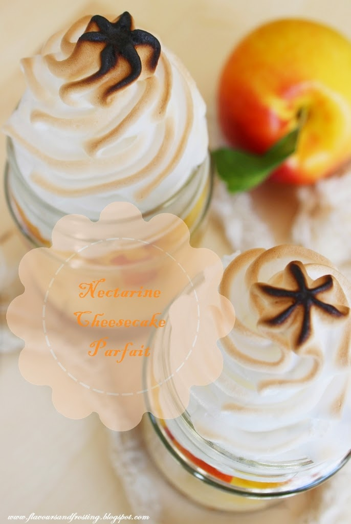 Nectarine Cheesecake Parfaits, baked cheesecake recipe easy,