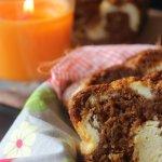 Pumpkin Caramel Cream Cheese Bread