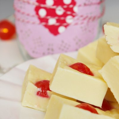 Cherry Almond Fudge