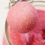 CAKE POPS RECIPE | blueberry and vanilla | homemade sanding sugar