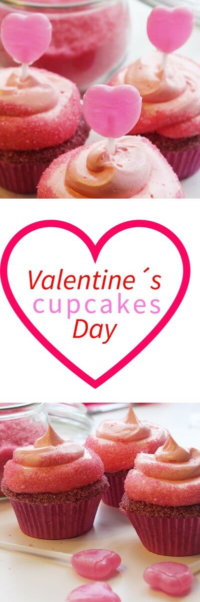 Valentines Day Cupcakes French Merengue Buttercream Homemade Sanding