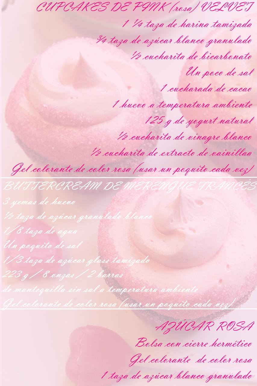 RECETA: Cupcakes del día de San Valentín con buttercream de merengue francés