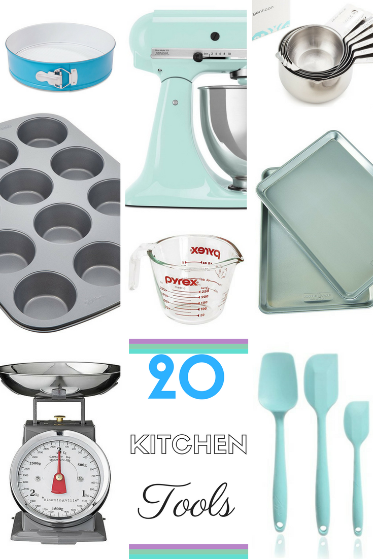 Kitchen Tools & Baking Equipment I use