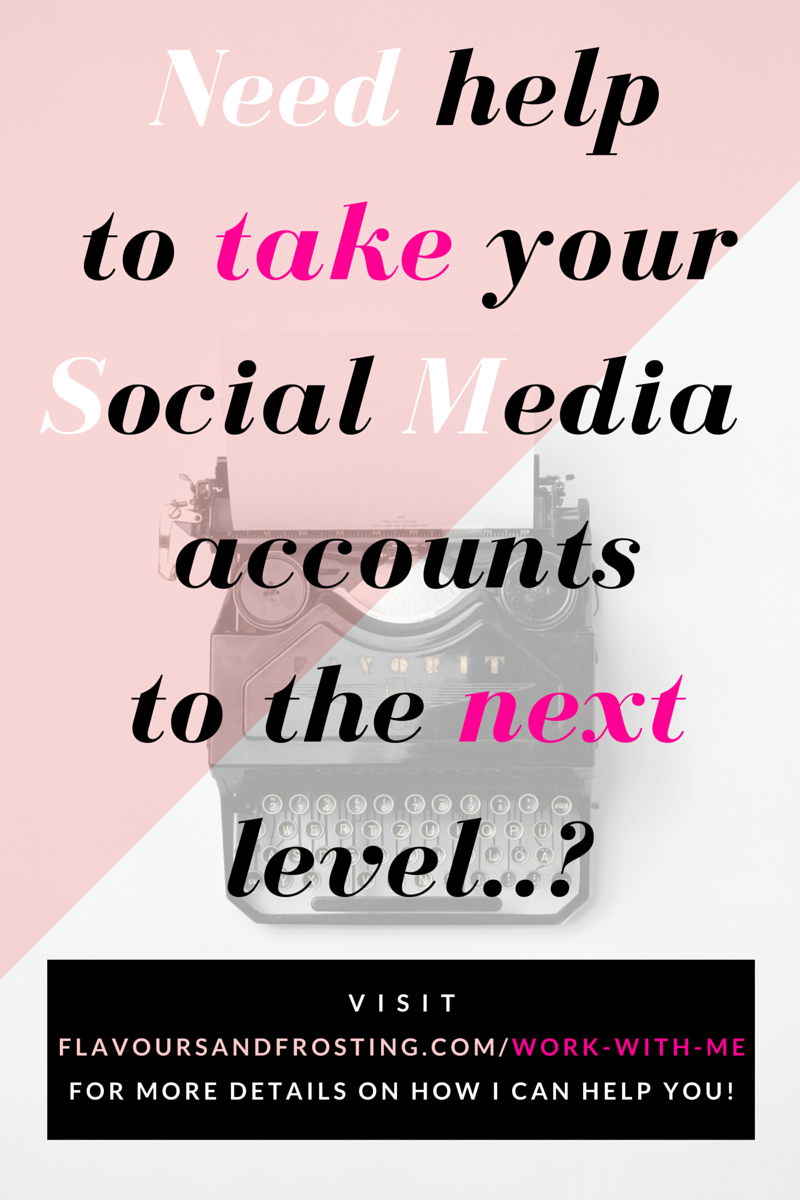 Need help to take your social media accounts and blog to the next level...?