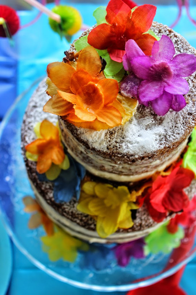 Hummingbird Naked Layer Cake