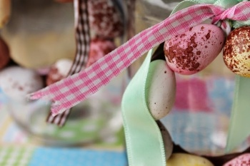 Mini Easter Egg Decorations | Mini Egg Wreaths