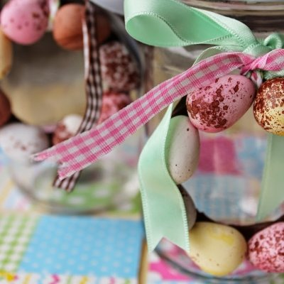 Mini Easter Egg Decorations | Mini Egg Wreaths