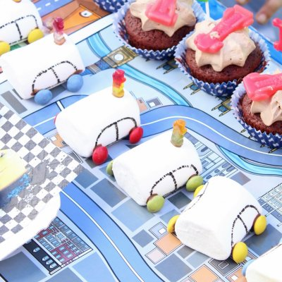 Disney Cars Birthday Party with Cars party decoration