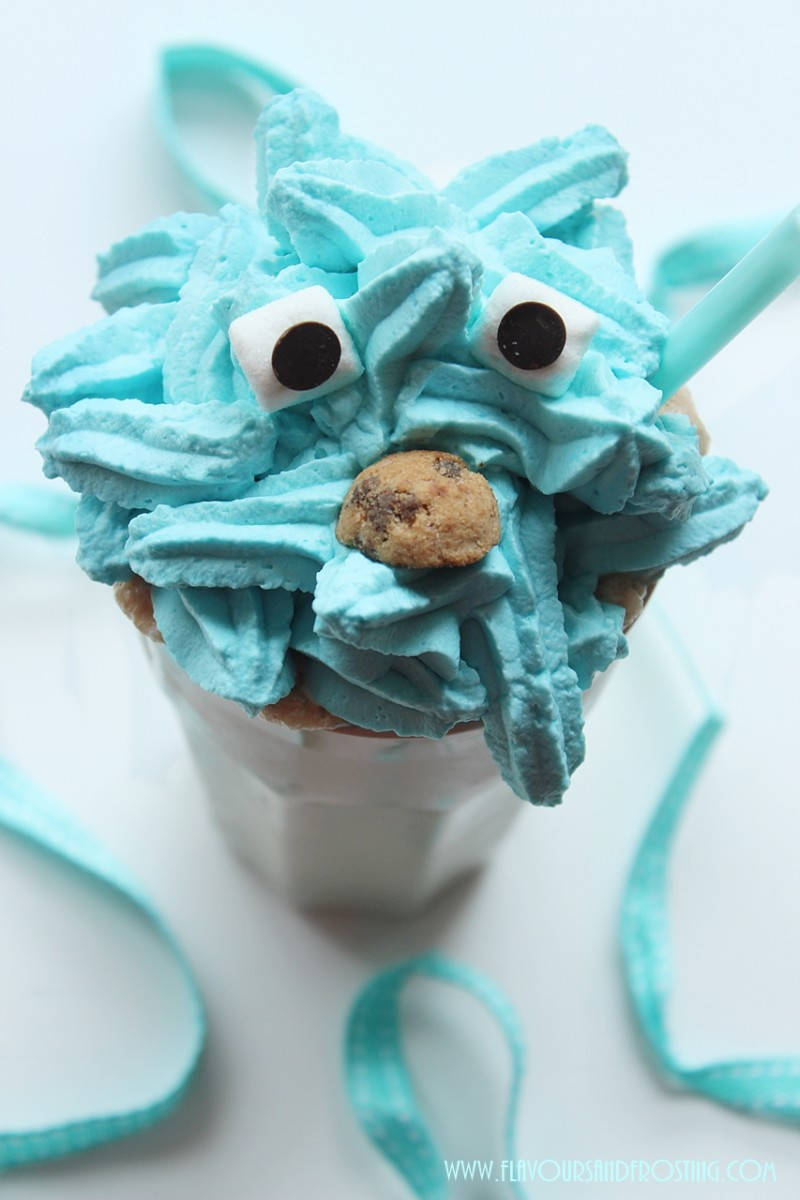 Cookie Monster Milkshake Recipe