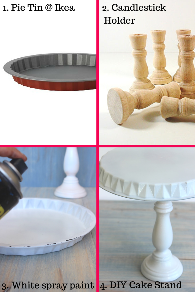 Diy Cake Stand Tutorial