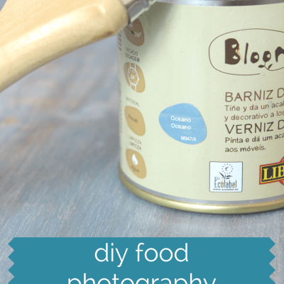 DIY Food Photography Background Boards