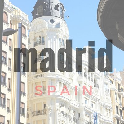Desserts in Madrid the capital of Spain