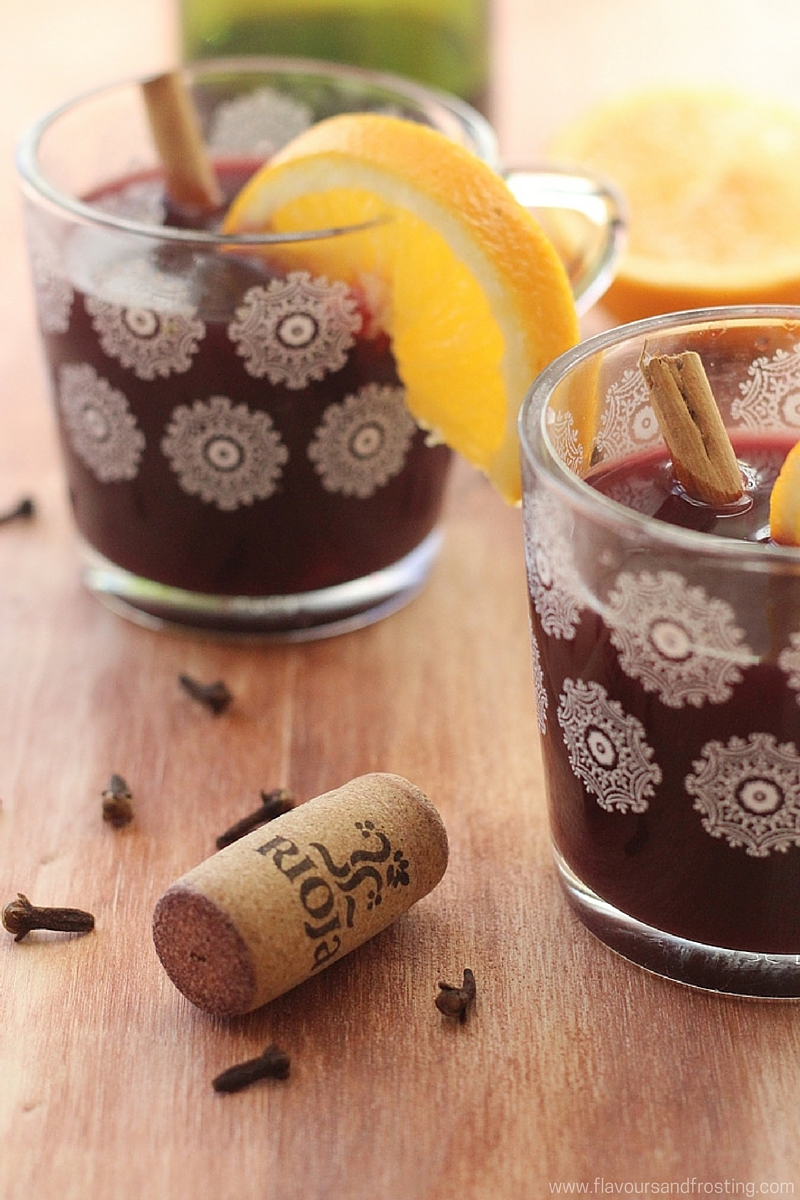 The perfect winter warmer - Gluehwein recipe a.k.a Mulled Wine. Can be made non alcoholic too!