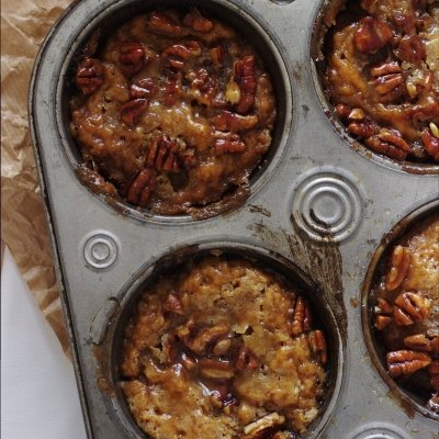 Mini Sweet Potato Pecan Pie Pudding