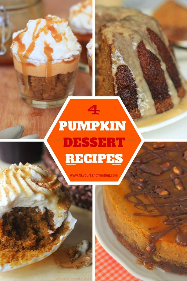 Pumpkin Dessert Recipes