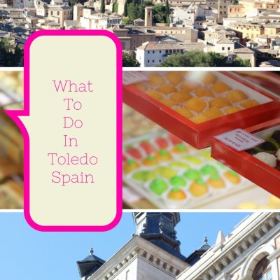 What to do in Toledo Spain