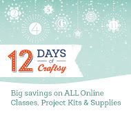 12 days of Christmas sale @ Craftsy