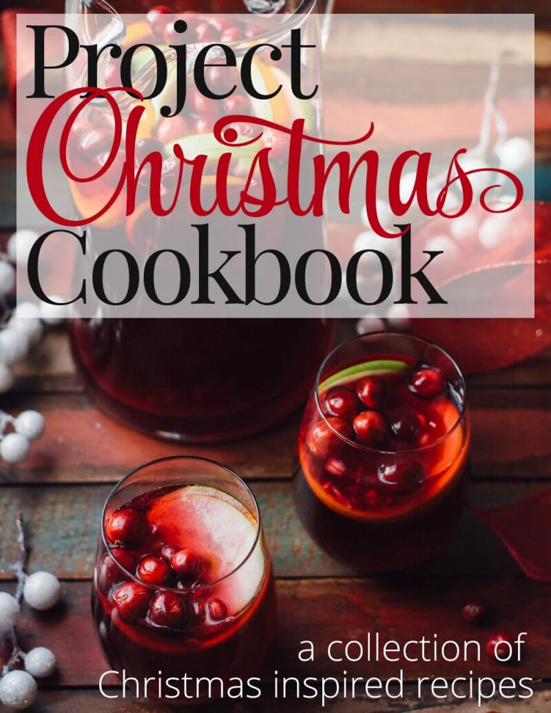 10 Fantastic Food bloggers worked together to create the PROJECT CHRISTMAS COOKBOOK with 20 easy, impressive Holiday recipes, from drinks to side dishes to desserts, And we´re selling it for only $8!!! AND AND 100% OF THE PROCEEDS WILL BE DONATED TO THE NO KID HUNGRY CAMPAIGN!!!