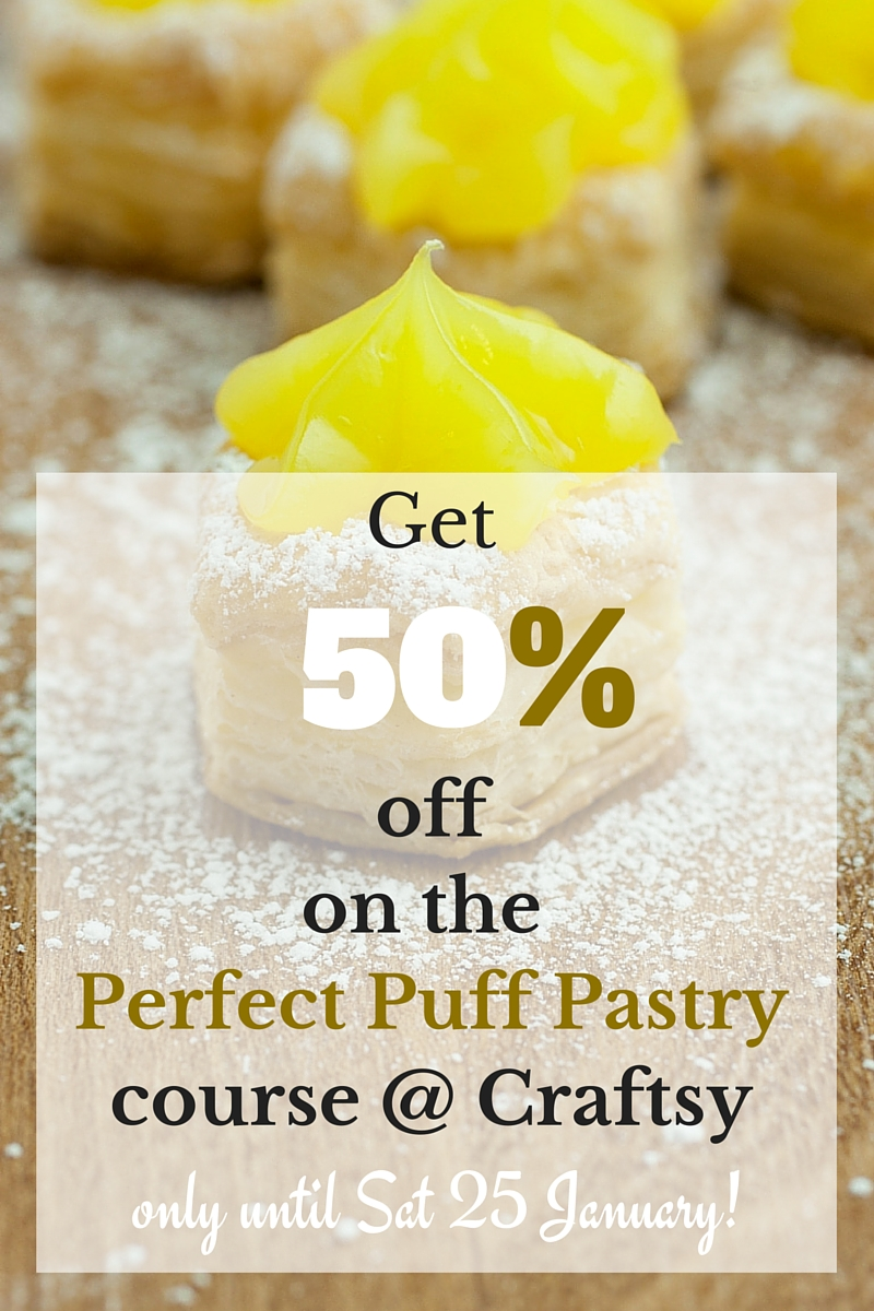 Perfect Puff Pastry Course at Craftsy