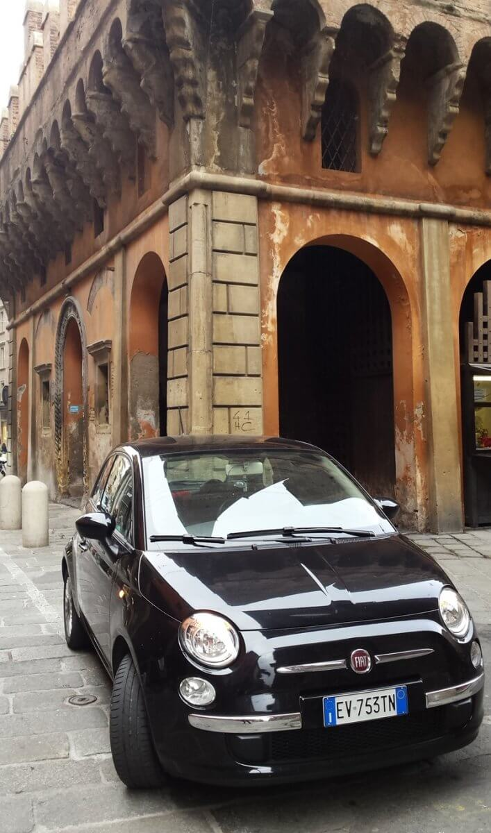 My Trip To Italy in 3 Days. We rented the Fiat 500 to drive everywhere.