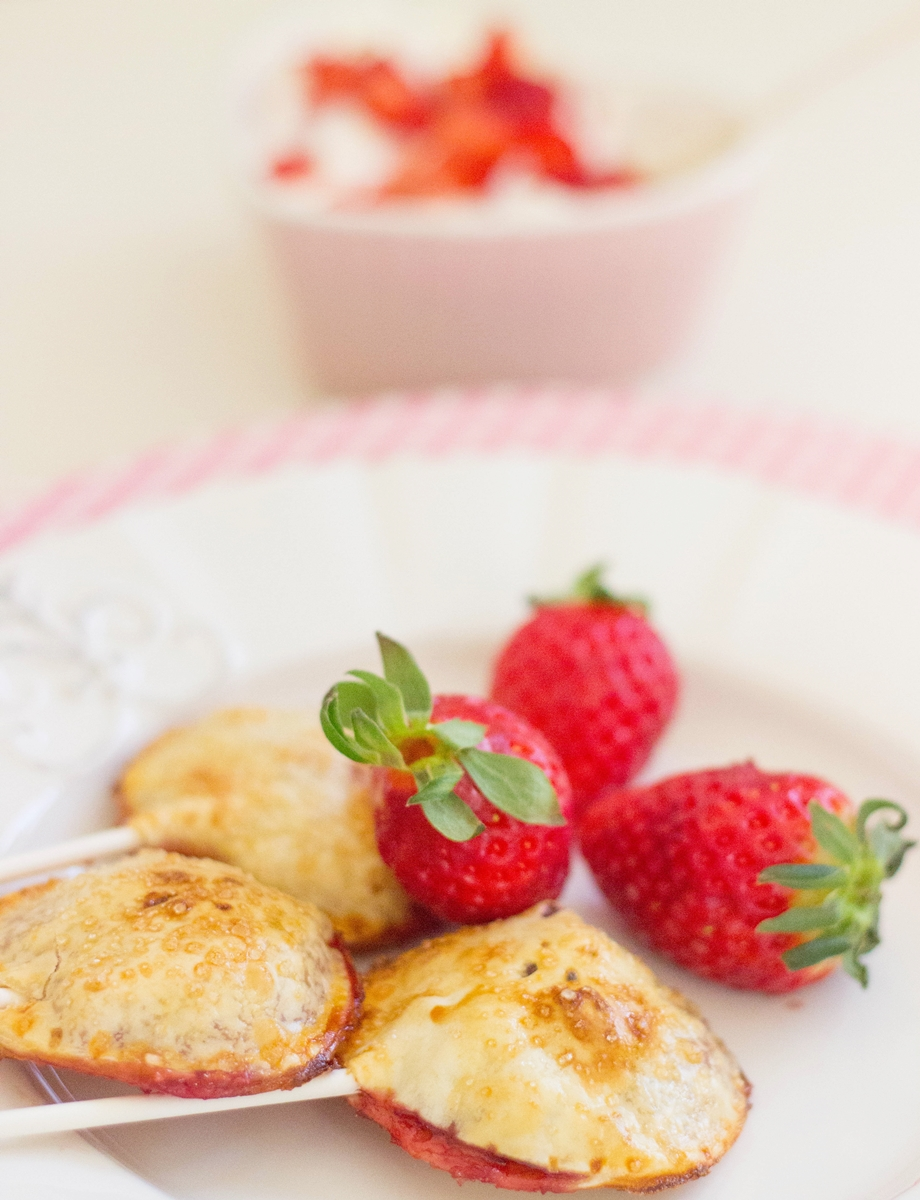 Valentine´s Day Strawberry Pie Pops Recipe