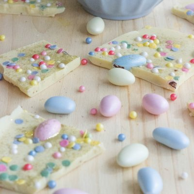Easter Bark | What to do with leftover Easter Candy!