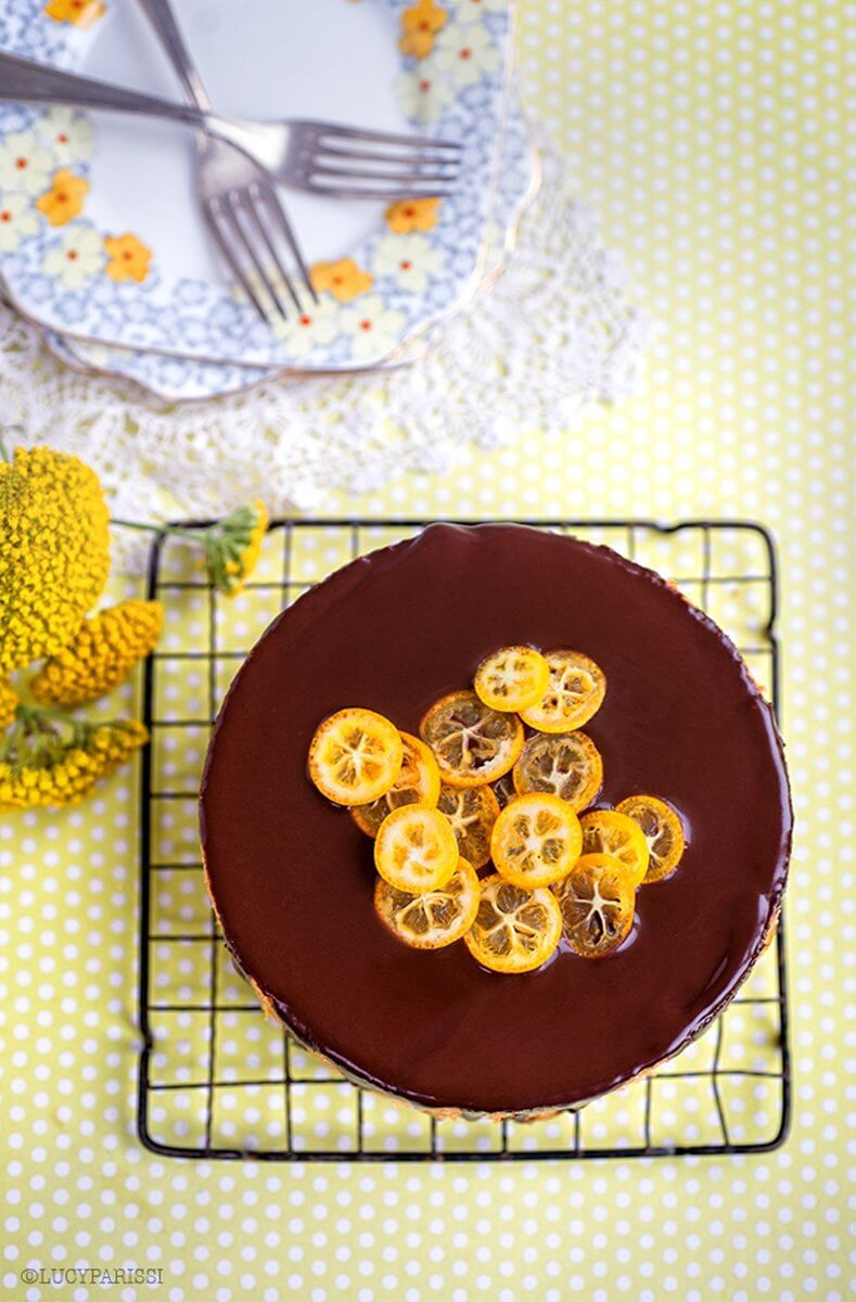 Jaffa Cake Orange and Chocolate| Layer Cakes for Easter round-up on FlavoursandFrosting.com