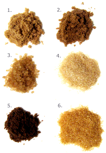 The Different a Types of Brown Sugar