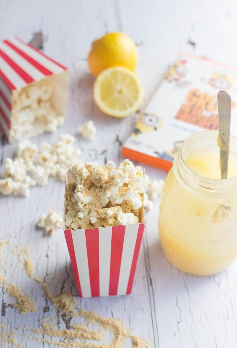 Lemon Merinque Popcorn