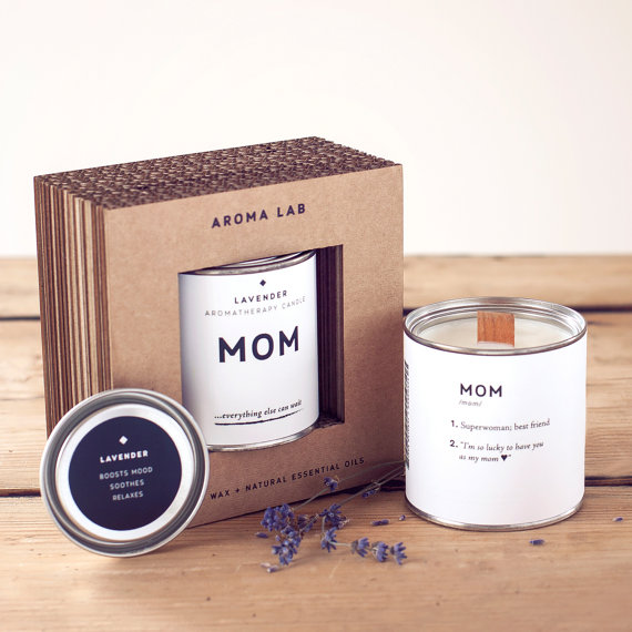 Mom Lavender Candle