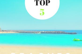 My Top 5 Beaches in Gran Canaria