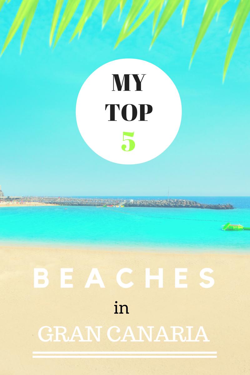 My Top 5 Beaches in Gran Canaria | FlavoursandFrosting.com