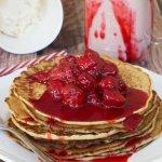 Strawberry Pancake Milkshake