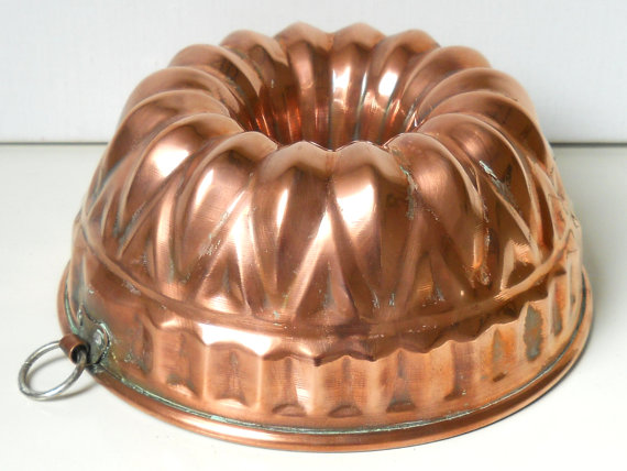 Bundt Cake copper mold