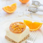 No Bake Orange Cheesecake Bars