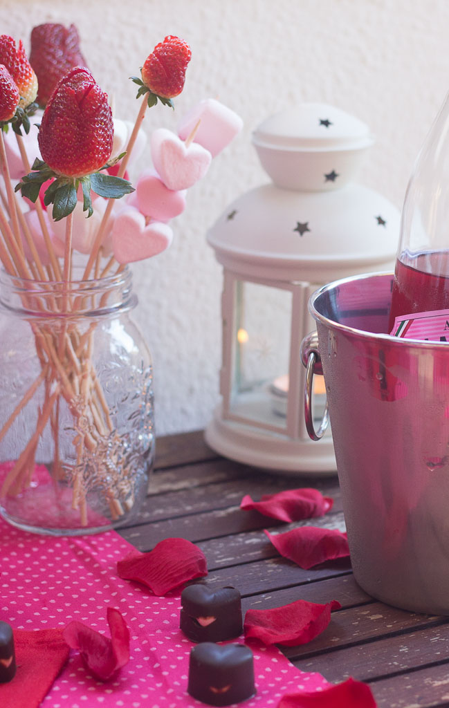 DIY Date Night In at Home for Valentines Day or any other romantic celebration