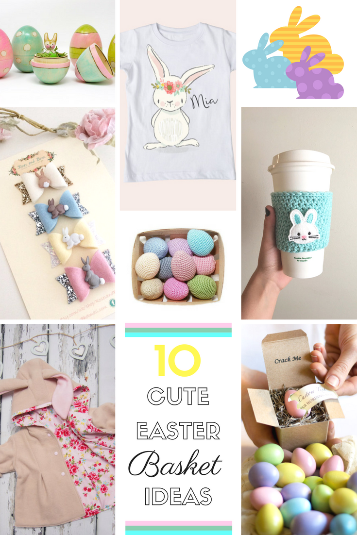 10 cute easter basket ideas negle Images