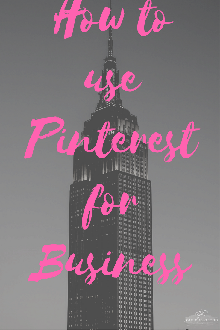 How to use Pinterest for Business. You can´t afford not to share your business on Pinterest!