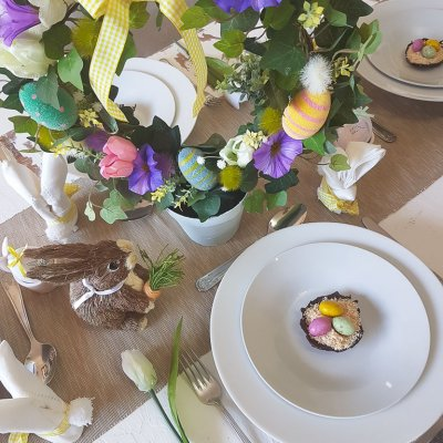 Easy Easter Crafts | Easy Easter Tablescapes
