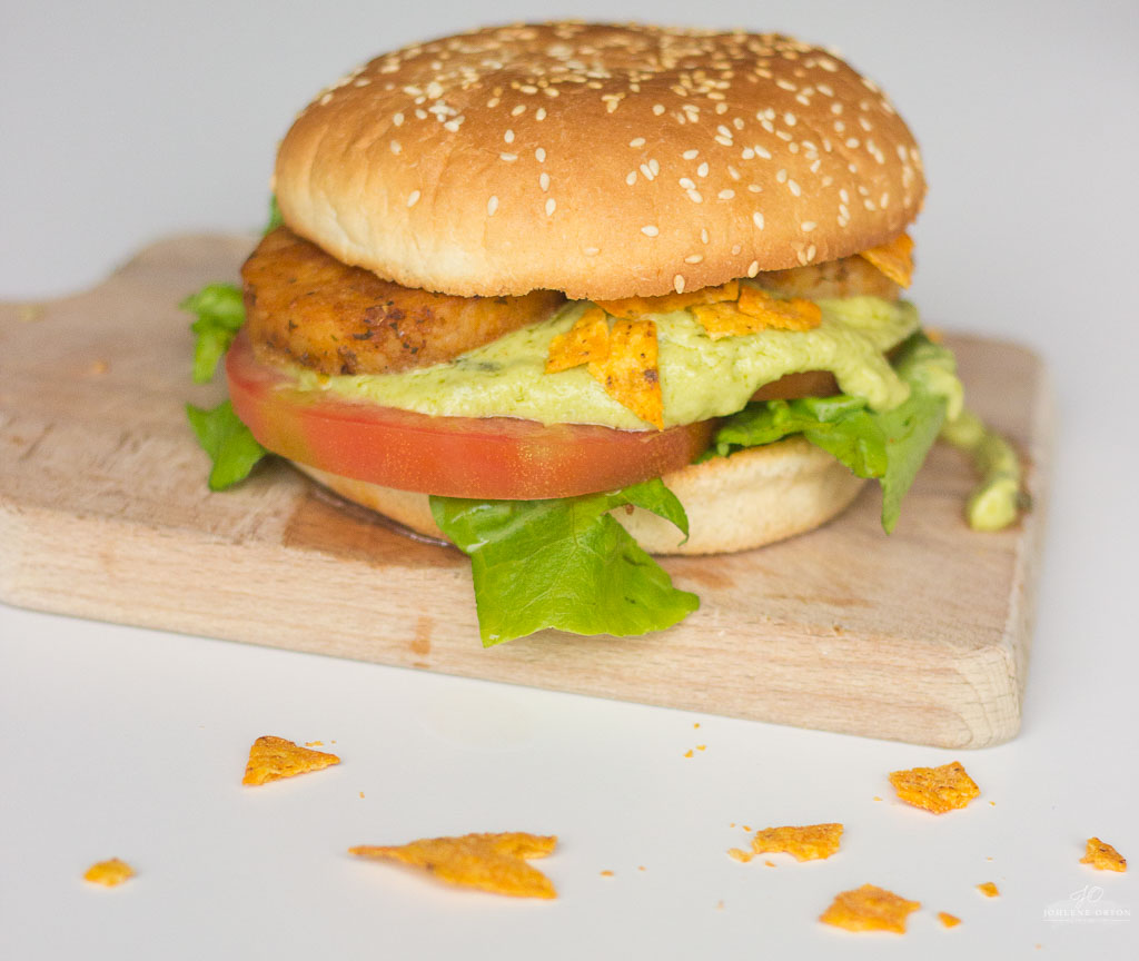 Mexican Fish Burger Recipe!