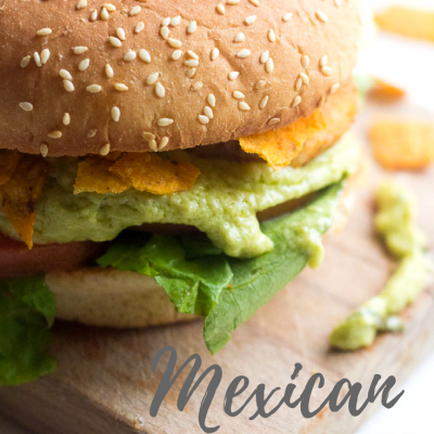 Mexican Fish Burger
